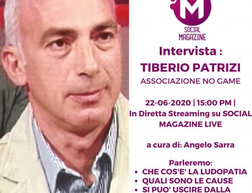Intervista Tiberio Patrizi con Social Magazine
