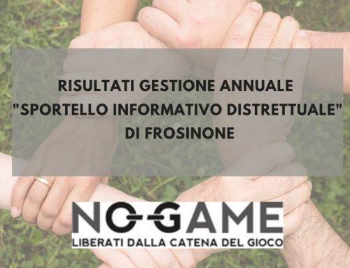 Risultato Gestione Sportello Informativo Distrettuale (GAP)