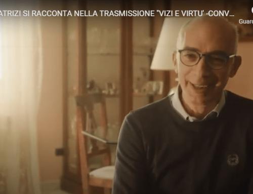 """Tiberio Patrizi si racconta nella trasmissione """"Vizi e Virtù – Conversazione con Francesco"""""""